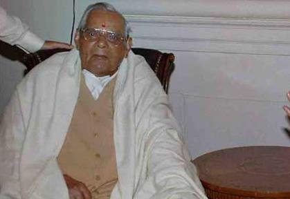 എ.ബി.വാജ്പേയി ആശുപത്രിയില്: ദീര്ഘകാലമായി അസുഖബാധിതനായിരുന്നു
