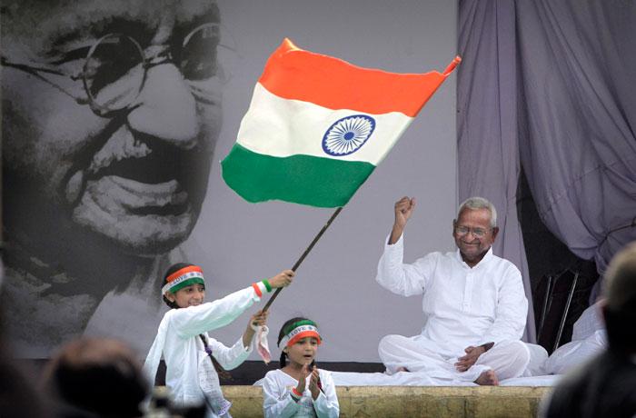 ലോക്പാല് ബില്: അണ്ണാ ഹസാരെ വീണ്ടും നിരാഹാര സമരത്തിലേക്ക്