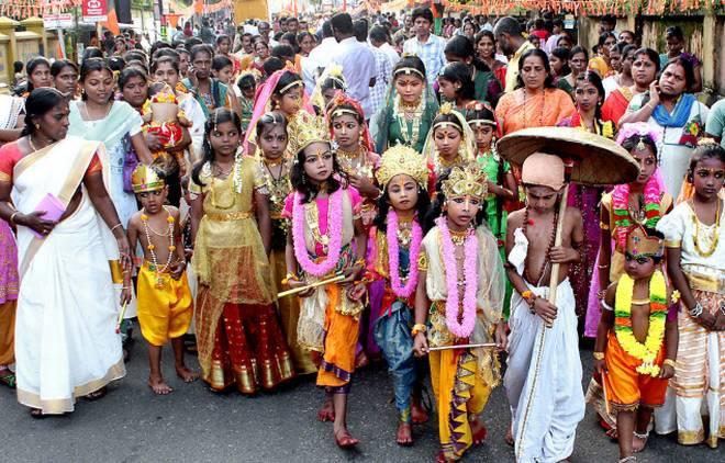 പ്രളയദുരിതം: ശ്രീകൃഷ്ണ ജയന്തിയുടെ ആഘോഷങ്ങള് ഒഴിവാക്കി
