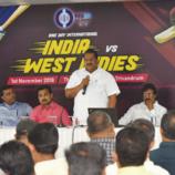 ഇന്ത്യ-വെസ്റ്റിന്ഡീസ് ഏകദിന ക്രിക്കറ്റ് മത്സരത്തിന്റെ ഓണ്ലൈന് ടിക്കറ്റ് വില്പ്പന ആരംഭിച്ചു