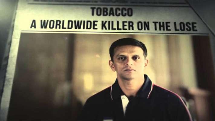 പുകയിലക്കെതിരെയുള്ള രാഹുല് ദ്രാവിഡിന്റെ ബോധവല്കരണ പരസ്യം ഡിസംബര് ഒന്നു മുതല് തിയേറ്ററുകളില് പ്രദര്ശിപ്പിക്കില്ല