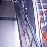 മെട്രോ സ്റ്റേഷനിലെ എസ്കലേറ്ററിൽ നിന്ന് മുത്തച്ഛന്റെ കൈയിൽനിന്ന് 50 അടി താഴ്ചയിലേക്ക് വീണ് ഒന്നര വയസ്സുകാരിക്ക് ദാരുണാന്ത്യം