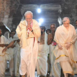 ശ്രീ പദ്മനാഭന്റെ അനുഗ്രഹം തേടി പ്രധാനമന്ത്രി