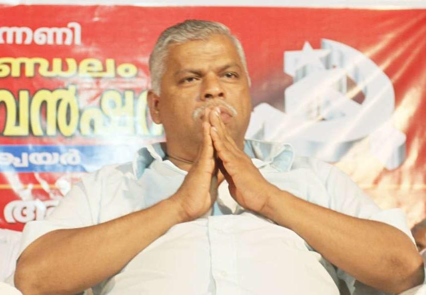 എം.വി ജയരാജന് സി.പി.എം കണ്ണൂര് ജില്ലാ സെക്രട്ടറി